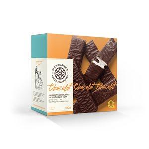 Guimauves enrobées de chocolat noir - Chocolaterie des Pères Trappistes 180g