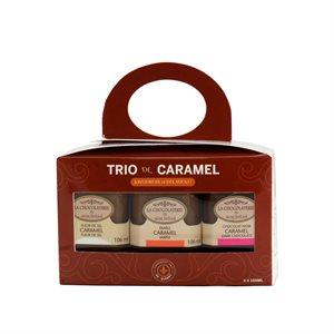 Trio cadeau de caramel - La Chocolaterie du Vieux Beloeil 3 x 106ml