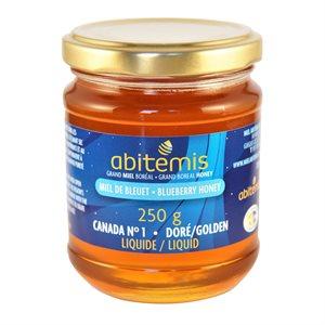 Miel de bleuets - Abitémis 250g