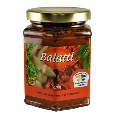 Pesto tomates séchées - Balatti 270g