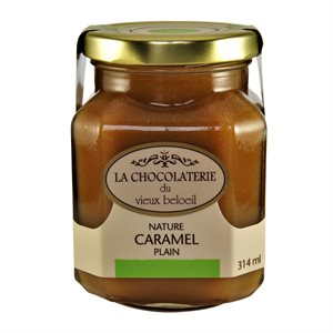 Caramel nature - La Chocolaterie du Vieux Beloeil 314ml