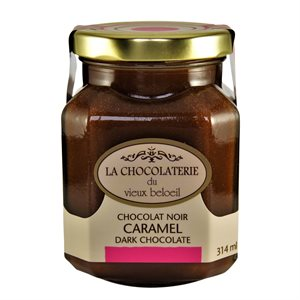 Dark Chocolate Caramel - La Chocolaterie du Vieux Beloeil 314ml