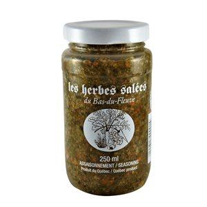 Herbes salées du Bas-du-Fleuve 250ml