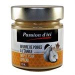 Beurre de Poires à l'érable - Passion d'ici 212ml