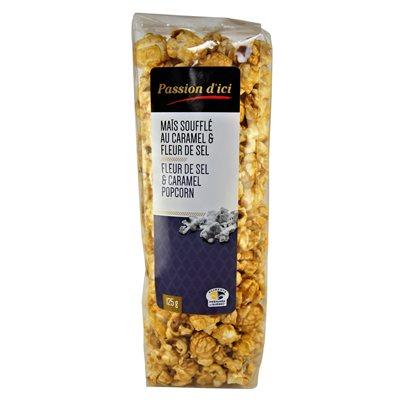 Maïs soufflé au Caramel & Fleur de sel - Passion d'ici 125g