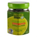 Fleur d'ail biologique fermentée dans l'huile - Petit Mas 190ml