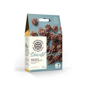 Chocolaterie des Pères Trappistes - Milk Chocolate Rosettes 135g