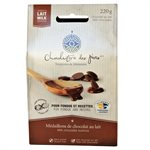 Médaillons à fondue de chocolat au lait - Chocolaterie des Pères Trappistes 220g