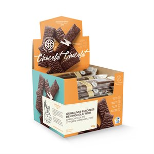 Chocolaterie des Pères Trappistes - Marshmallows covered dark chocolate 18g