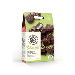 Chocolaterie des Pères Trappistes - Coconut Covered Dark Chocolate 160g