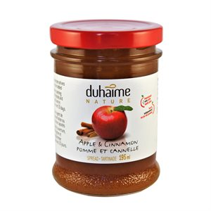 Tartinade Pomme & Cannelle 100% Fruits - Duhaime Gourmet 200ml
