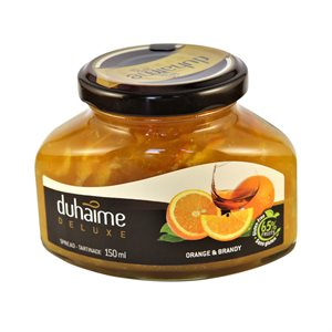 Tartinade Deluxe orange & Brandy - Duhaime Gourmet 150ml