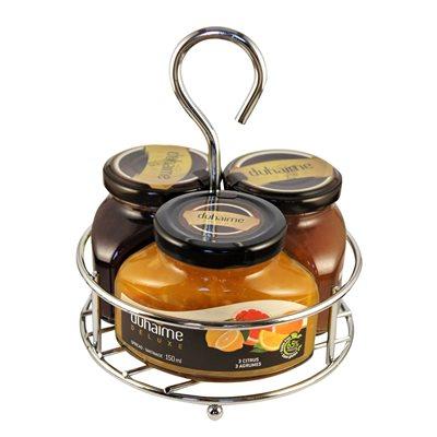Trio Tartinades Deluxe déjeuner Duhaime Gourmet 3x150ml