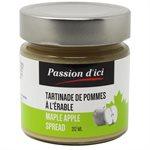 Tartinade de Pommes à l'érable - Passion d'ici 212ml
