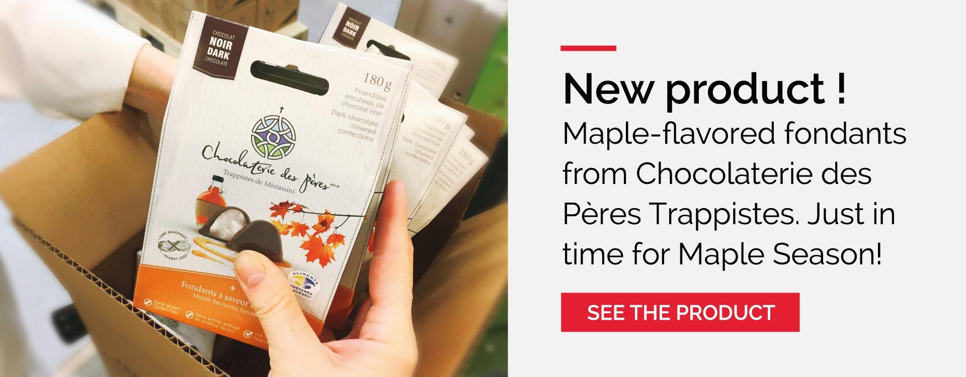 Maple fondants