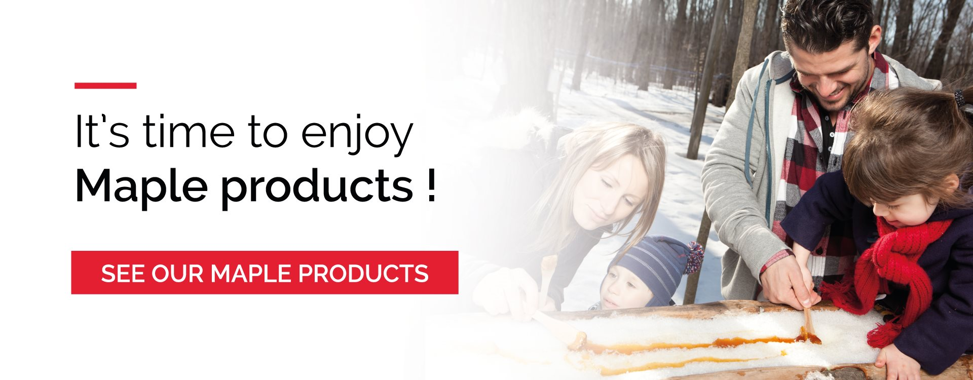 See our maple products
